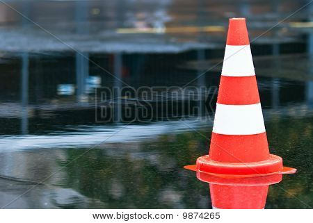 Cone In A Puddle V2
