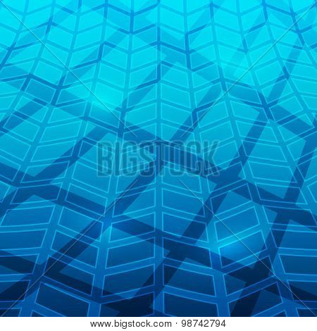 Blue-abstract-background-mosaic-pool-shadow