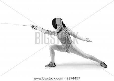 Female Fencer