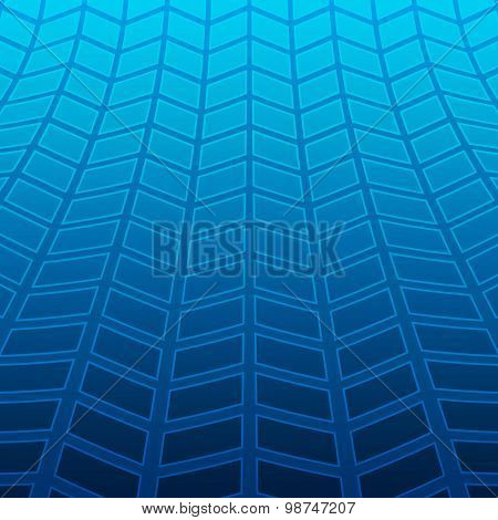 Tire-tracks-glowing-bright-blue-abstract-background