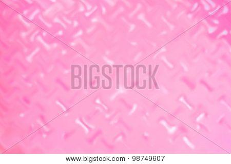 Blurred Pink Steel Flowerpot Texture Background