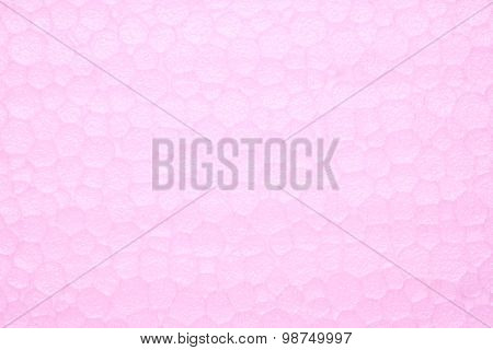 Pink plastic foam Texture Background