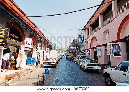 Scott Market In Yangon, Myanmar