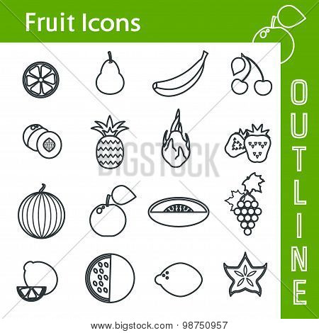 FruitIconOutline