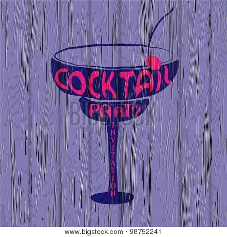 Cocktail Party Lettering