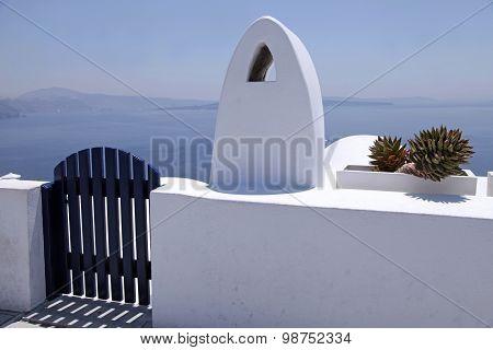 Beautiful Architectural Details Of Santorini Island, Greece