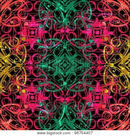 decorative seamless pattern background. Elegant luxury texture for wallpapers, backgrounds and page