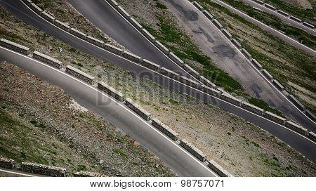 Mountain Road Abstract