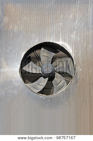 Old factory ventilation system