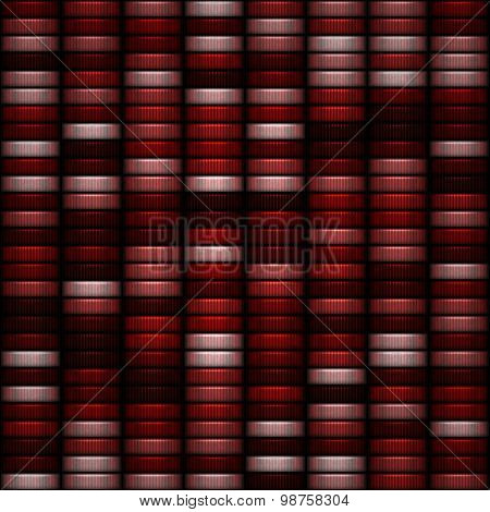 Seamless Red And Pink Casino Tokens Pattern