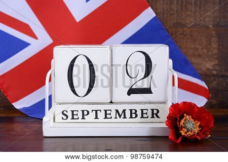 End Of Wwii 2 September 1945 Calendar Date