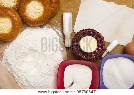 Ingredients For Baking Cheesecakes