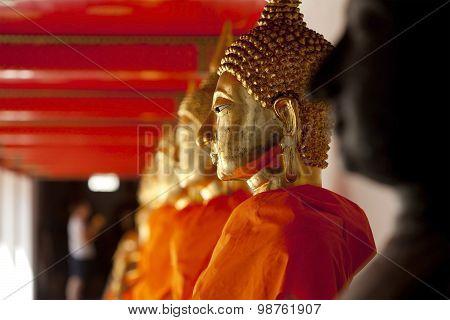Golden Buddha Statue, Wat Pho, Thailand
