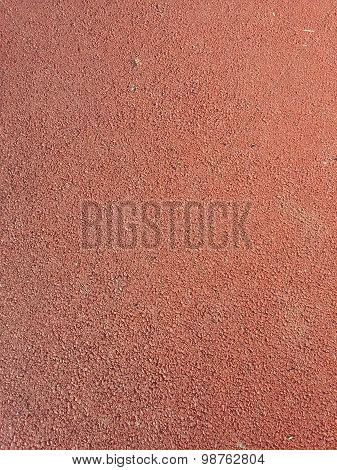 Texture of Red Track