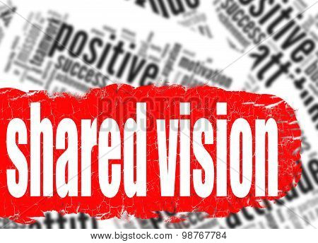Word Cloud Shared Vision