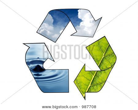 Símbolo de reciclar