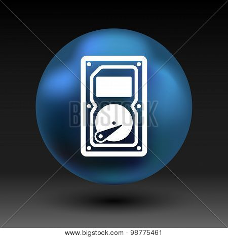icon backup network file harddisk hdd record