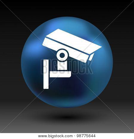 camera cctv icon sign graphic theft wireless street