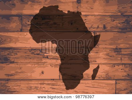 Africa Map Brand