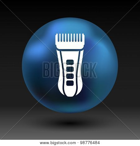 Hairclipper illustration accessory appliance barber beauty icon