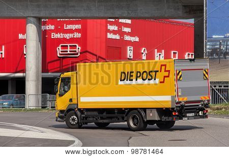 Swiss Post Truck