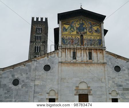 The San Frediano church in Lucca