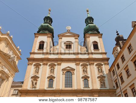 Jesuit Church (circa 1631) In Vienna, Austria