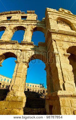 Temple Colloseum Amphitheatre
