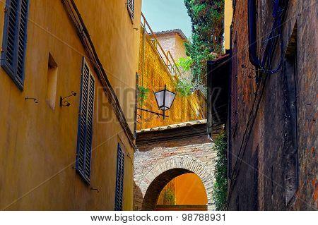 Sienna Italy Street Detail