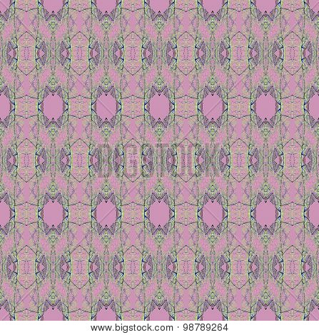 Seamless pattern violet green