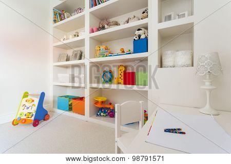 Cozy Children's Desk