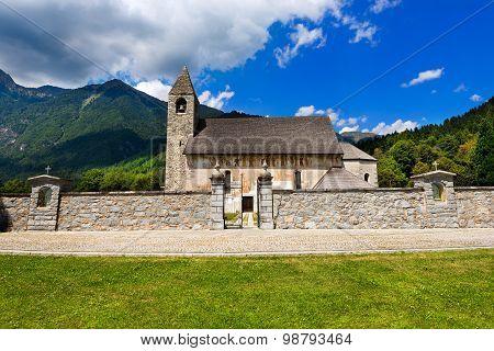 San Vigilio Church With Macabre Dance - Pinzolo