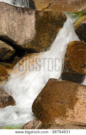 Water Flowing In The Creek