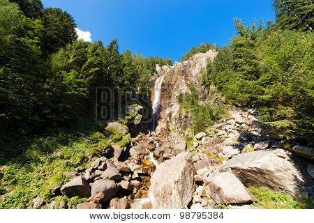 Waterfall Regina Del Lago - Adamello Trento Italy