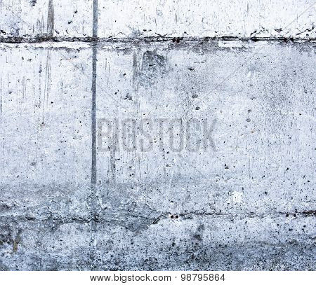 Concrete Surface With Blocks Joint Lines And Rich Texture