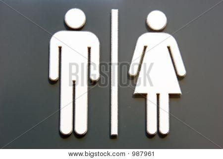 Unisex Door Symbol