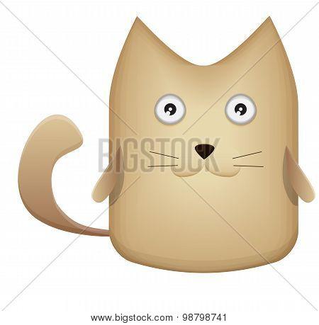 Very cute kitten - Stock Image