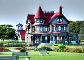 Luxurious old style  home Architecture poster