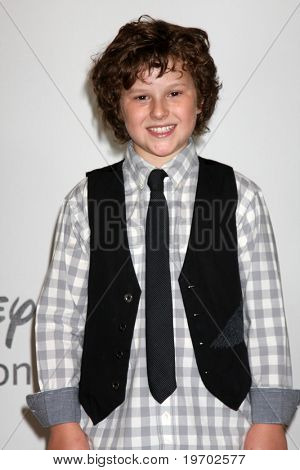 LOS ANGELES - AUGUST 1:  Nolan Gould arrive(s) at the 2010 ABC Summer Press Tour Party at Beverly Hilton Hotel on August 1, 2010 in Beverly Hills, CA...