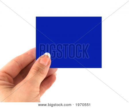 Blank Adhesive Note Note Against White Background