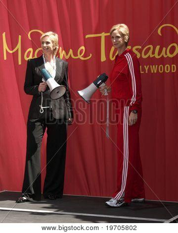 LOS ANGELES - 4 de agosto: Jane Lynch na cerimônia de Jane Lynch após ser imortalizado em cera