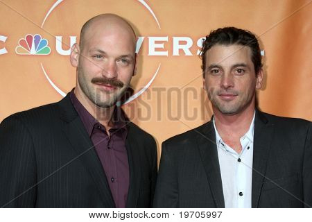 LOS ANGELES - JUL 30:  Corey Stoll & Skeet Ulrich arrives  at the 2010 NBC Summer Press Tour Party at Beverly Hilton Hotel on July 30, 2010 in Beverly Hills, CA...