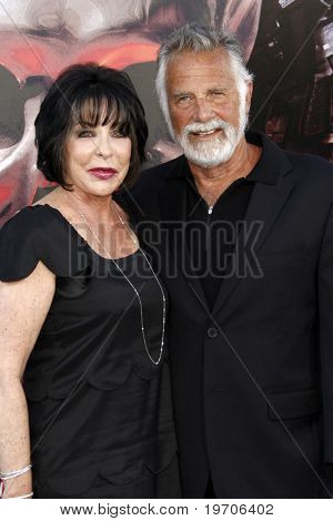 "LOS ANGELES - AUGUST 3:  Jonathan Goldsmith arrives at ""The Expendables"" LA Premiere at Grauman's Chinese Theater on August 3, 2010 in Los Angeles, CA"