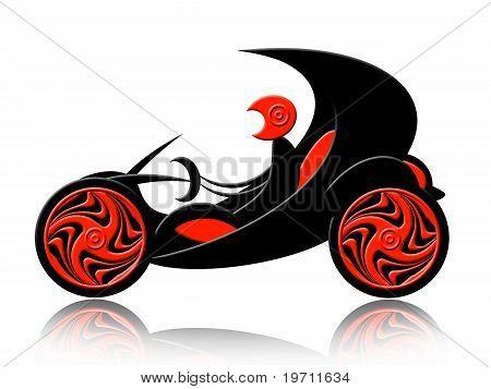 Retro Cabrio Auto