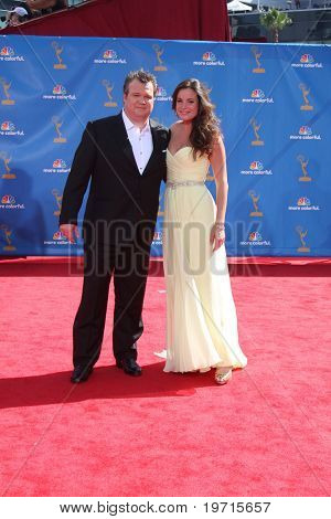 LOS ANGELES - AUG 29:  Eric Stonestreet, girlfriend arrive at the 2010 Emmy Awards at Nokia Theater at LA Live on August 29, 2010 in Los Angeles, CA