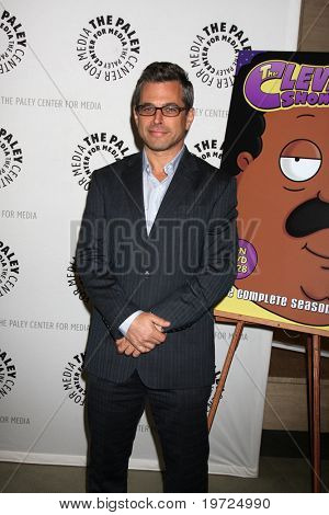 "LOS ANGELES - SEP 23:  Richard Appel arrives at ""The Cleveland Show"" DVD Release Party & Panel DIscussion  at Paley Center for Media on September 23, 2010 in Beverly Hills, CA"