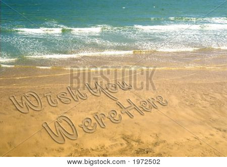 Text In Sand