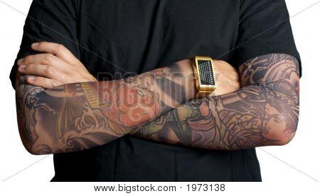 纹身的男人
