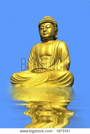 Buddha Reflection