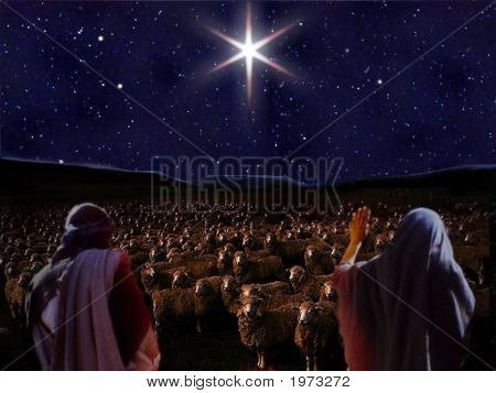 Bethlehem Star appears to Shepherds